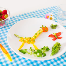 Healthy lunch for little kids