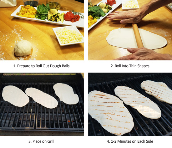 The Everyday Chef: How To Make Homemade Dough for Tasty Veggie Flatbread Pizzas