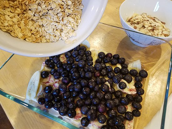 The Everyday Chef: Blueberry Baked Oatmeal. Fruits And Veggies More Matters.org