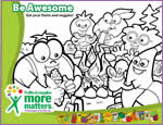 Download Coloring Page: Fruits & Veggiesâ€