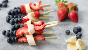 The Everyday Chef: The Perfect Summer Dessert! Berry Kebobs