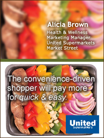 Insider's Viewpoint: Expert Supermarket Advice: Cost or Convenience? Alicia Brown, United Supermarkets / Market Street. Fruits And Veggies More Matters.org