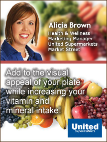Insider's Viewpoint: Expert Supermarket Advice: Taste a Rainbow … of Fruits & Veggies. Alicia Brown, United Supermarkets. Fruits And Veggies More Matters.org
