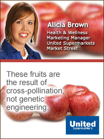 Insider's Viewpoint: Expert Supermarket Advice: A Franken-Fruit? Alicia Brown, United Supermarkets. Fruits And Veggies More Matters.org