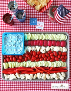 American-Flag-Vegetable-Tray