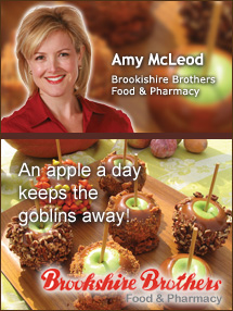 Insiders Viewpoint: Expert Supermarket Advice: Caramel Apples: A Not-So-Scary Halloween Treat, Amy McLeod, Brookshire Brothers Food and Pharmacy. Fruits And Veggies More Matters.org