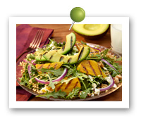 Click to view larger image of Avocado and Beet Salad: Fill Half Your Plate with Fruits & Veggies : Fruits And Veggies More Matters.org