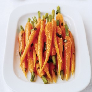 Baby Carrots with Tarragon