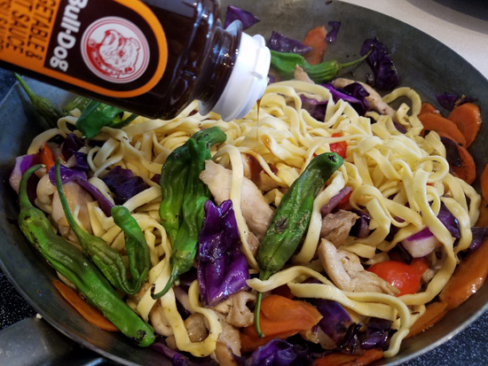 The Everyday Chef: Get Creative with Asian Noodles & Bull Dog Sauce! ChiPan Street Noodles