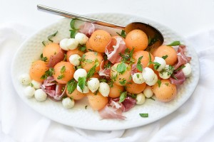 Cantaloupe-and-Mozzarella-Caprese-Salad-foodiecrush.com-004