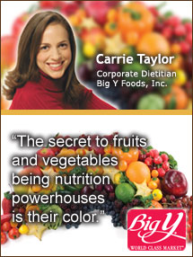Insider's Viewpoint: Carrie Taylor, Corporate Dietitian, Big Y Foods, Inc.