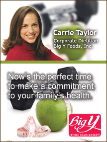 Insiders Viewpoint: Expert Supermarket Advice: Now's the Time! Focus on Fruits, Veggies and Physical Activity. It's Fruits & Veggies—More Matters Month! Carrie Taylor, Big Y Foods, Inc. Fruits And Veggies More Matters.org