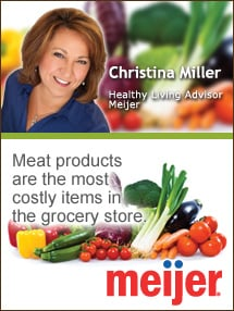 Insider's Viewpoint: Expert Supermarket Advice: Meatless Monday. Christina Miller, Meijer. Fruits And Veggies More Matters.org