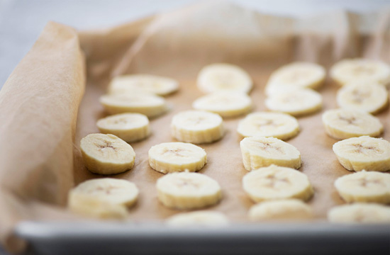 The Everyday Chef: Frozen Chocolate Banana Coins