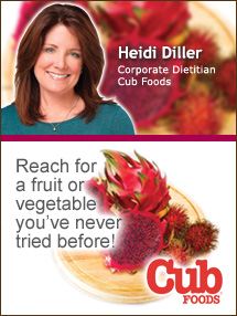 Insider's Viewpoint: Expert Supermarket Advice: Exotic Produce from around the World. Heidi Diller. Corporate Dietitian, Albertsons. Fruits And Veggies More Matters.org