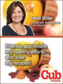 Insiders Viewpoint: Expert Supermarket Advice: Healthy Holiday Gifts Your Friends Will Love. Heidi Diller, Cub Foods. Fruits And Veggies More Matters.org