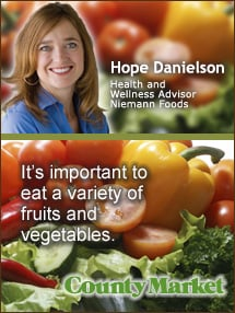 Insider's Viewpoint: Expert Supermarket Advice: Frozen Fruits and Veggies: It's important to eat a variety of fruits and vegetables. Hope Danielson, Niemann Foods. Fruits And Veggies More Matters.org