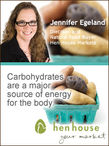Insider's Viewpoint: Expert Supermarket Advice: How Healthy Are Potatoes? Jennifer Egeland. Dietitian/Natural Food Buyer, Hen House Markets. Fruits And Veggies More Matters.org