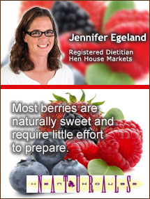 Insider's Viewpoint: Expert Supermarket Advice: It's Berry Picking Time! Jennifer Egeland, Hen House Markets. Fruits And Veggies More Matters.org