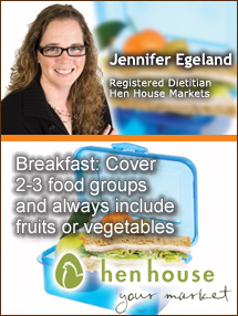 Insider's Viewpoint: Expert Supermarket Advice: Learning & Nutrition . Jennifer Egeland, Hen House Markets. Fruits And Veggies More Matters.org