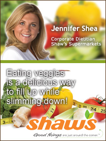 Insider's Viewpoint: Expert Supermarket Advice: Forget the Diet! Jennifer Shea, Supervalu. Fruits And Veggies More Matters.org
