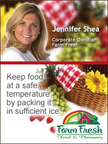 Insider's Viewpoint: Expert Supermarket Advice: Colorful & Nutritious Picnic Ideas. Jennifer Shea, Farm Fresh. Fruits And Veggies More Matters.org