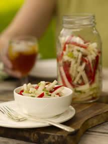 CIA Recipies: Jicama and Red Pepper Salad
