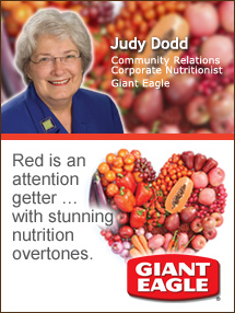 Insider's Viewpoint: Expert Supermarket Advice: Building Blocks for a Healthy Heart. Judy Dodd, Giant Eagle Community Relations Corporate Nutritionist. Fruits And Veggies More Matters.org