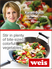 Insider's Viewpoint: Expert Supermarket Advice: Ready … Set … Stir-Fry! Karen Buch, Director of Lifestyle Initiatives, Weis Markets. Fruits And Veggies More Matters.org
