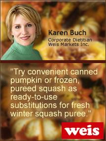 Insider's Viewpoint: Karen Buch, Weis Markets, Inc. Squash