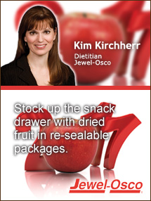 Insiders Viewpoint: Expert Supermarket Advice: Keeping Your Resolutions. Kim Kirchherr, Jewel-Osco. Fruits And Veggies More Matters.org