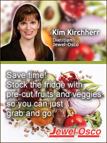 Insider's Viewpoint: Expert Supermarket Advice: Simple Solutions for Keeping Resolutions. Kim Kirchherr, Jewel-Osco. Fruits And Veggies More Matters.org