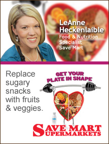 Insider's Viewpoint: Expert Supermarket Advice: Get Your Plate in Shape. LeAnne Heckenlaible, Corporate Dietitian, The Great Atlantic and Pacific Tea Co. Fruits And Veggies More Matters.org