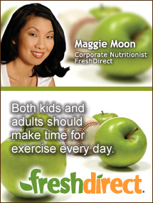 Insiders Viewpoint: Expert Supermarket Advice: Fuel Up for Fall Sports. Maggie Moon, FreshDirect. Fruits And Veggies More Matters.org