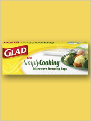 Glad SimplyCooking Microwave Steaming Bags