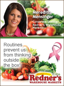 Insider's Viewpoint: Expert Supermarket Advice: Fill Your Plate with Hope. Meredith Mensinger, Redner's. Fruits And Veggies More Matters.org