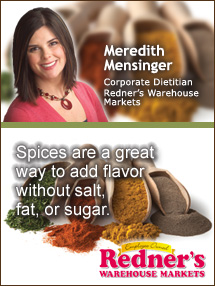 Insiders Viewpoint: Expert Supermarket Advice: Spice Up Your Fruits & Veggies. Meredith Mensinger, Redner's Markets. Fruits And Veggies More Matters.org