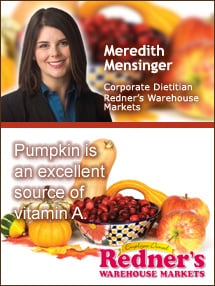 Insiders Viewpoint: Expert Supermarket Advice: 'Tis the Season … to Eat MORE! Meredith Mensinger, Redner's Warehouse Markets. Fruits And Veggies More Matters.org