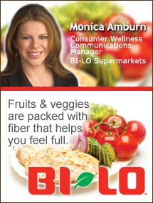 Insider's Viewpoint: Expert Supermarket Advice: Managing Your Weight? Focus on Half Your Plate. Monica Amburn, Consumer Wellness Communications Manager, BI-LO Supermarkets. Fruits And Veggies More Matters.org