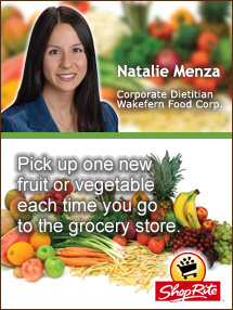 Insiders Viewpoint: Expert Supermarket Advice: When It's Wise to Eat MORE, Natalie Menza, Wakefern Food Corp. Fruits And Veggies More Matters.org