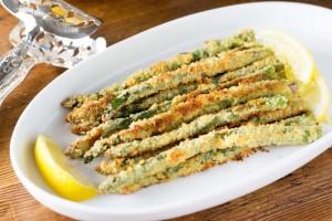 Panko-Parmesan-Crusted-Asparagus