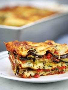 Roasted Vegetable Lasagna