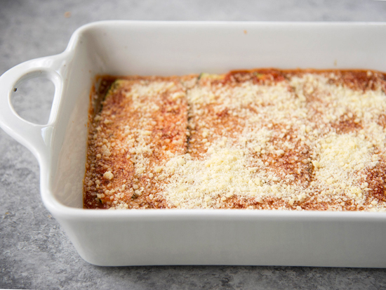 The Everyday Chef: Roasted Zucchini Parmesan