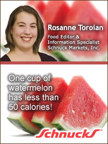 Insider's Viewpoint: Expert Supermarket Advice: Wild about Watermelons! Rosanne Toroian, Schnuck Markets. Fruits And Veggies More Matters.org