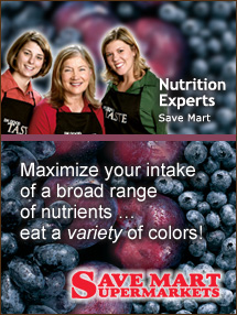 Insider's Viewpoint: Expert Supermarket Advice: Craving the Winter Blues? Nutrition Experts, Save Mart. Fruits And Veggies More Matters.org