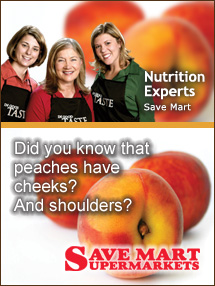 Insider's Viewpoint: Expert Supermarket Advice: Anatomy of a Peach. Nutrition Experts, Save Mart. Fruits And Veggies More Matters.org