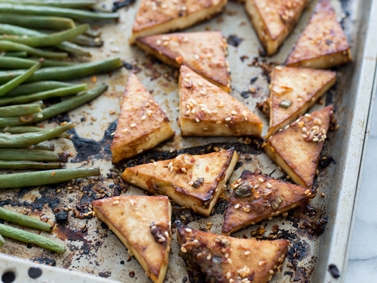 The Everyday Chef: Savory Sheet Pan Tofu Dinner. Fruits And Veggies More Matters.org