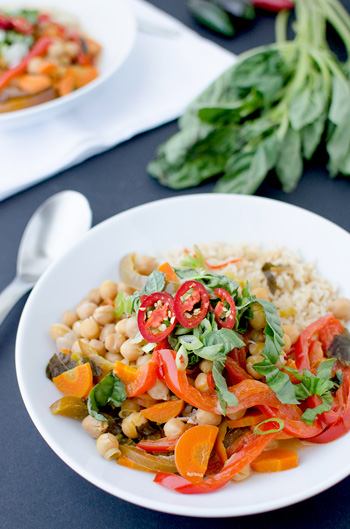 Slow-Cooker Vegetable Curry