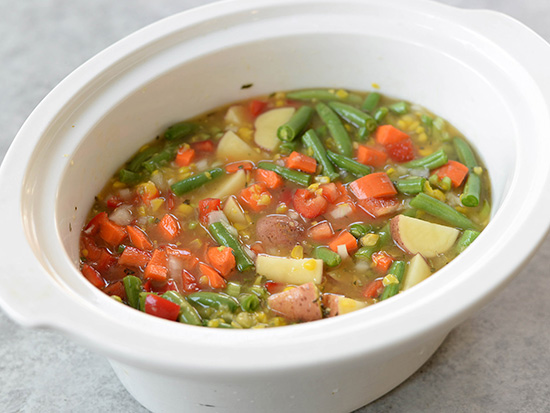 The Everyday Chef: Savory Slow-Cooker Vegetable Chowder