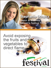 Insider's Viewpoint: Expert Supermarket Advice: Turn a Bland Cookout into a Flavorful Fiesta! Stephanie Schultz. Health and Wellness Director, Festival Foods. Fruits And Veggies More Matters.org